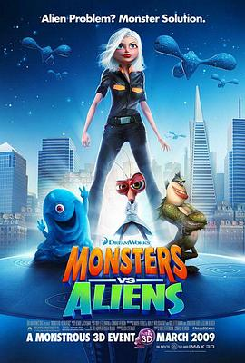 大战外星人Monstersvs.Aliens