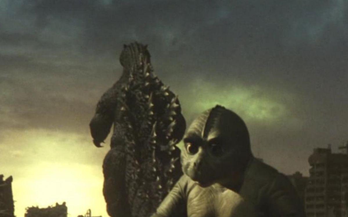 外星人唤醒全球怪兽,人类陷入苦战,决定释放哥斯拉拯救世界