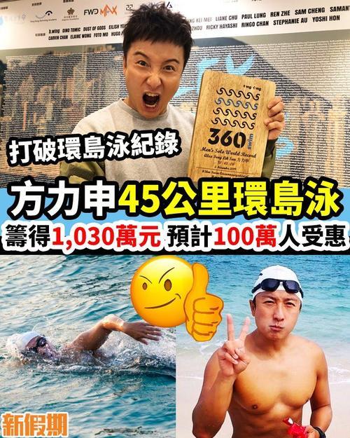 方力申45公里香港环岛泳纪录片